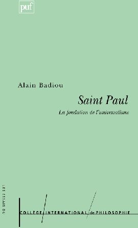 Saint paul ; la fondation de l'universalisme (4e édition)
