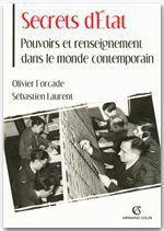 Secrets d'État  - Sébastien Laurent - Olivier Forcade