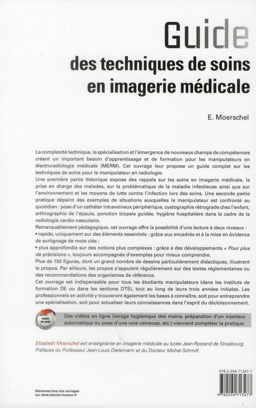 Guide technique des soins pour imagerie médicale