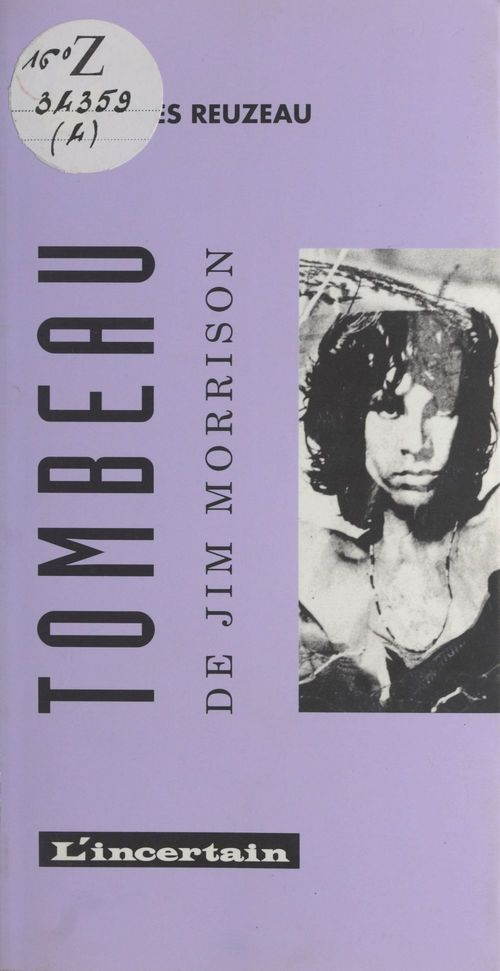 Tombeau de Jim Morrison