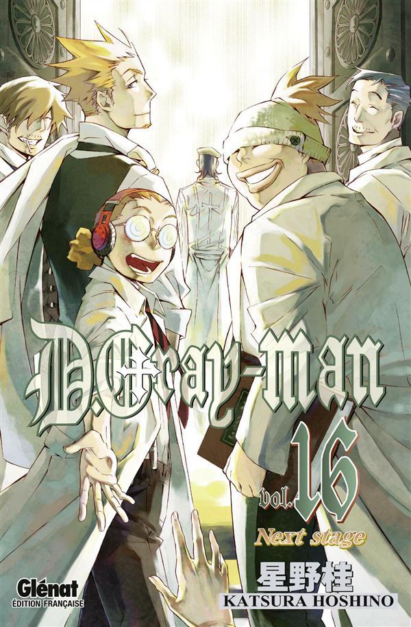 D.GRAY-MAN - EDITION ORIGINALE - TOME 16 - NEXT STAGE Hoshino Katsura