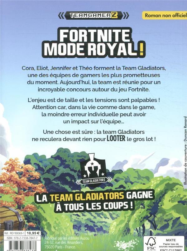 Team GamerZ t.1 ; Fortnite, mode royal !
