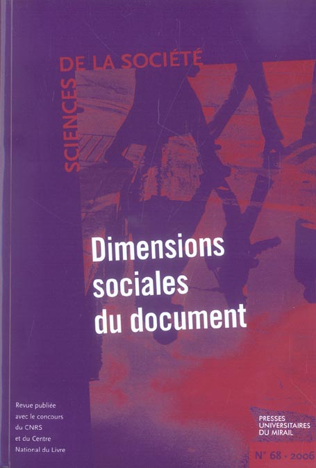 Dimensions sociales du document