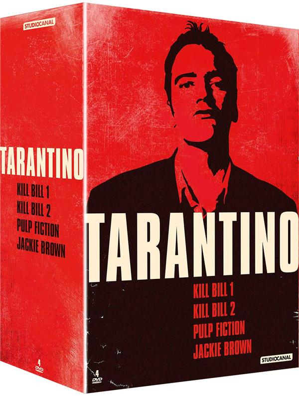 Tarantino - Coffret : Kill Bill 1 & 2 + Pulp Fiction + Jackie Brown