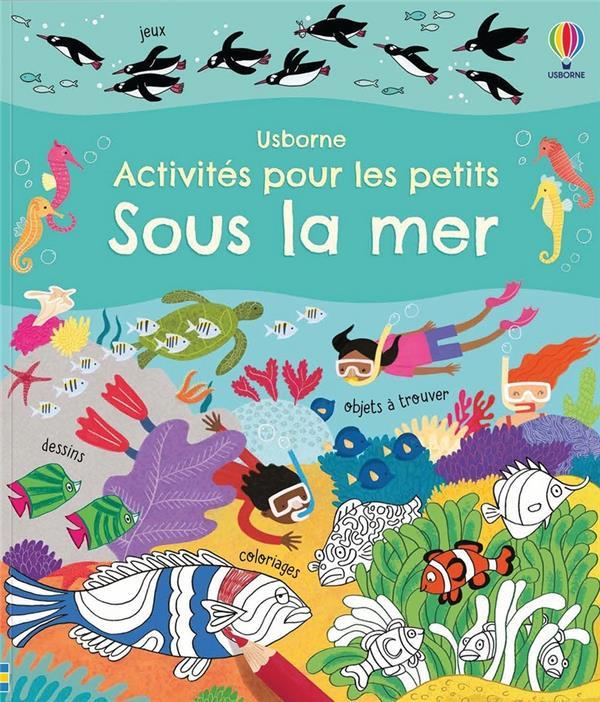 sous la mer : activités pour les petits