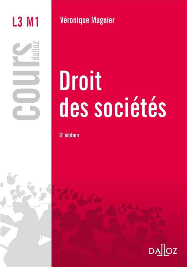 Droit Des Societes (6e Edition)