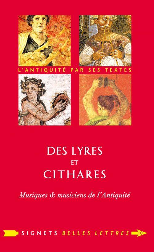 Des lyres et cithares ; musiques et musiciennes de l'antiquité