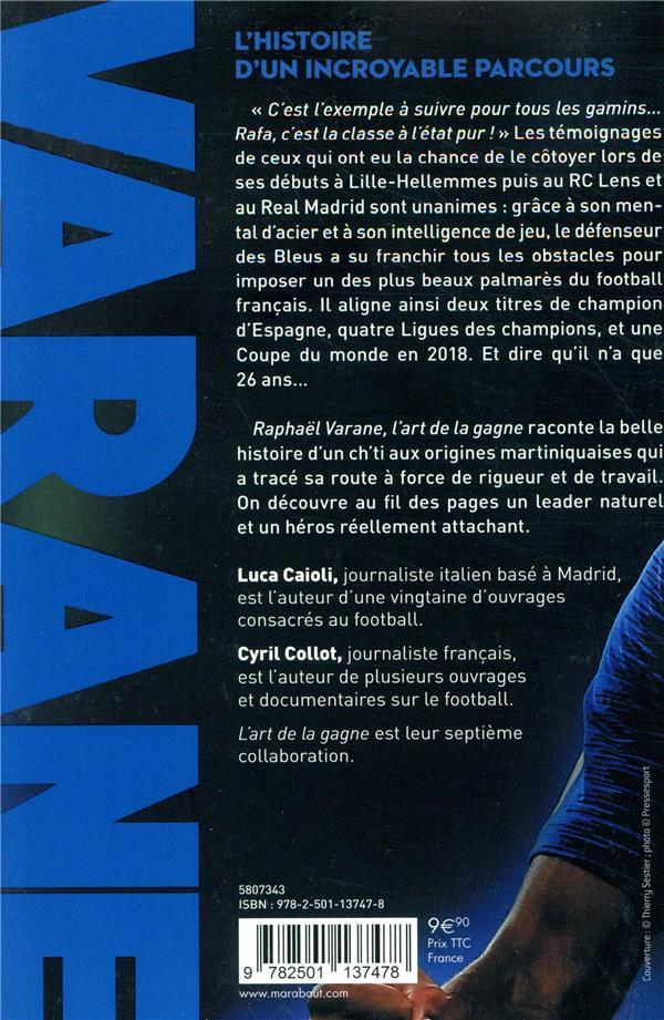 Raphaël Varane ; monsieur propre