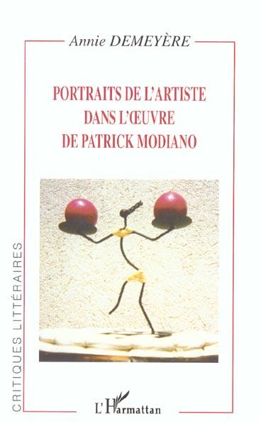 Portraits de l'artiste dans l' uvre de patrick modiano