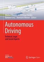 Autonomous Driving  - J. Christian Gerdes - Hermann Winner - Markus Maurer - Barbara Lenz