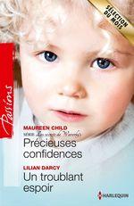Vente Livre Numérique : Précieuses confidences - Un troublant espoir  - Lilian Darcy