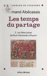 Vente Livre Numérique : Les temps du partage (2)  - Armand Abecassis