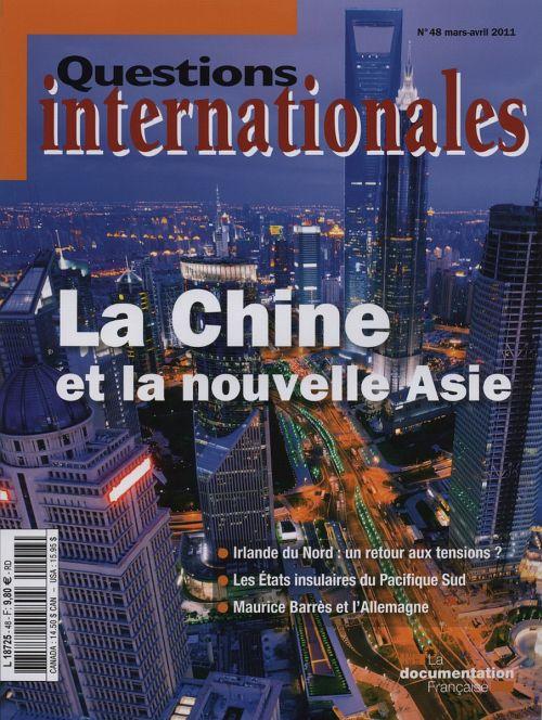 Revue questions internationales t.48; la nouvelle asie