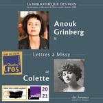 Vente AudioBook : Lettres à Missy  - Colette