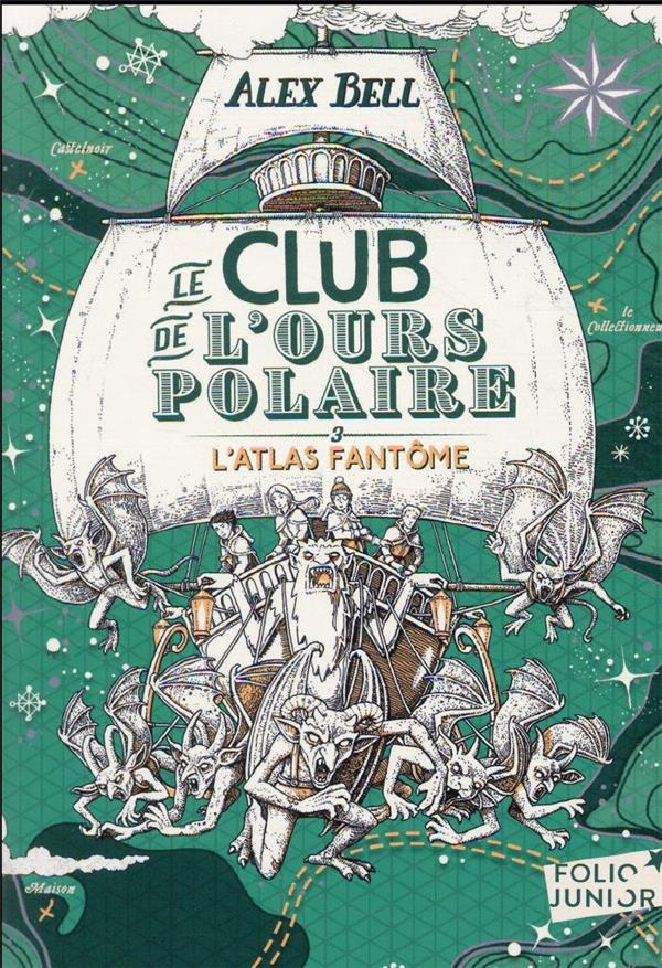 le club de l'ours polaire t.3 ; l'atlas fantôme