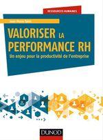 Vente Livre Numérique : Valoriser la performance RH  - Jean-Pierre Taïeb