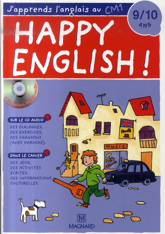 Happy English; Anglais ; Cm1