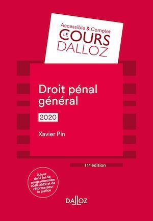 Droit pénal général (édition 2020)