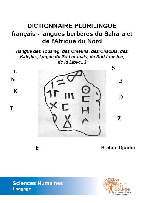 dictionnaire plurilingue français - langues berbères du Sahara et de l'Afrique du Nord