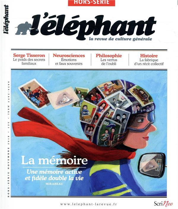 L'elephant hors-serie ; memoire