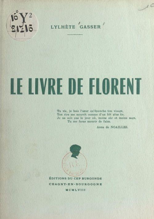Le livre de Florent