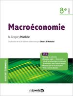 Vente Livre Numérique : Macroéconomie  - N. Gregory Mankiw
