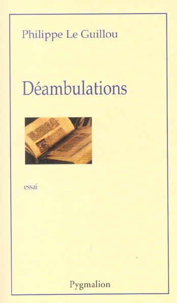 Deambulations