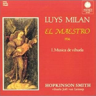 Milan: Musique pour vihuela, Livre 1