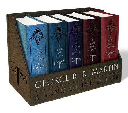 A GAME OF THRONES: LEATHER CLOTH BOXED SET