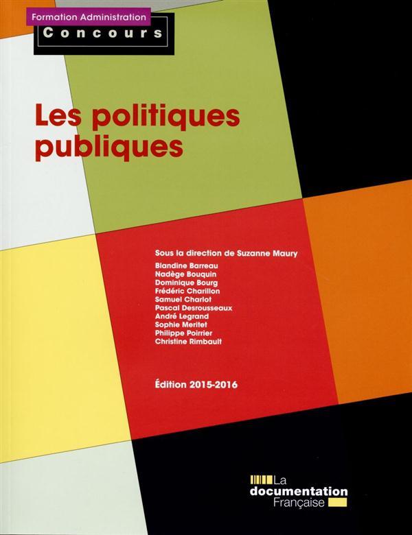les politiques publiques (édition 2015-2016)