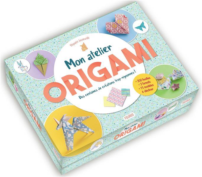 Mon atelier origami ; des centaines de créations trop mignonnes !