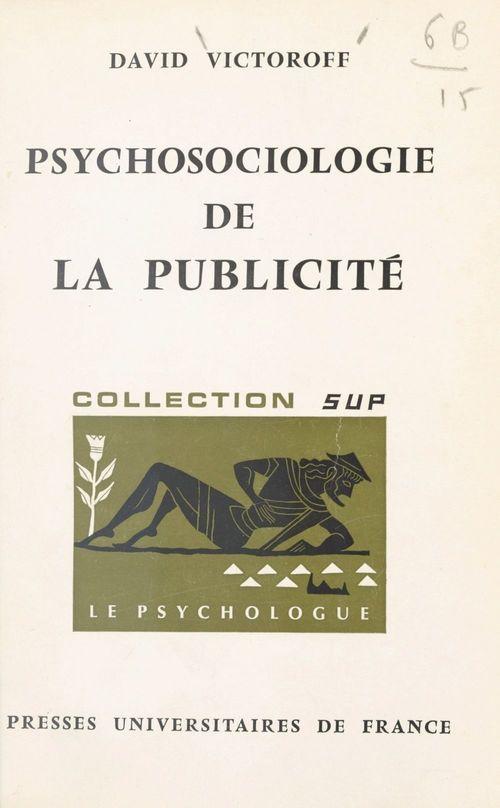 Psychosociologie de la publicité