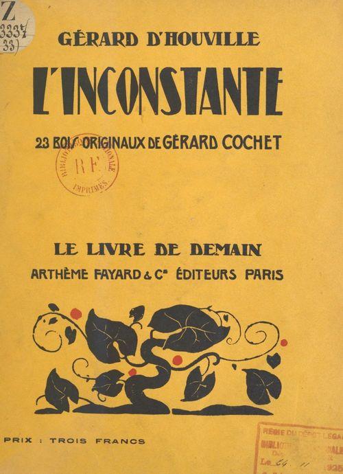 L'inconstante  - Gérard d'Houville