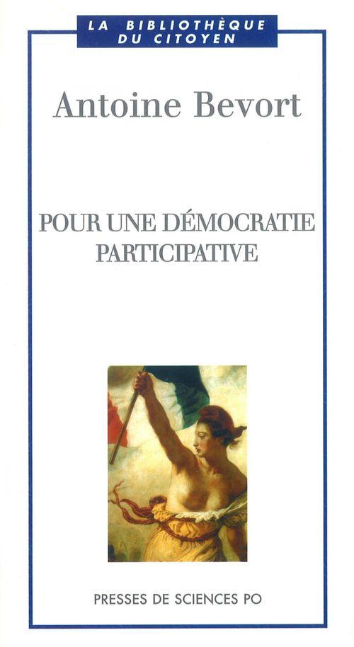 Pour une démocratie participative