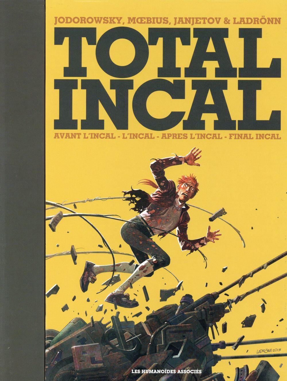 L'Incal ; une aventure de John Difool ; COFFRET ; total Incal