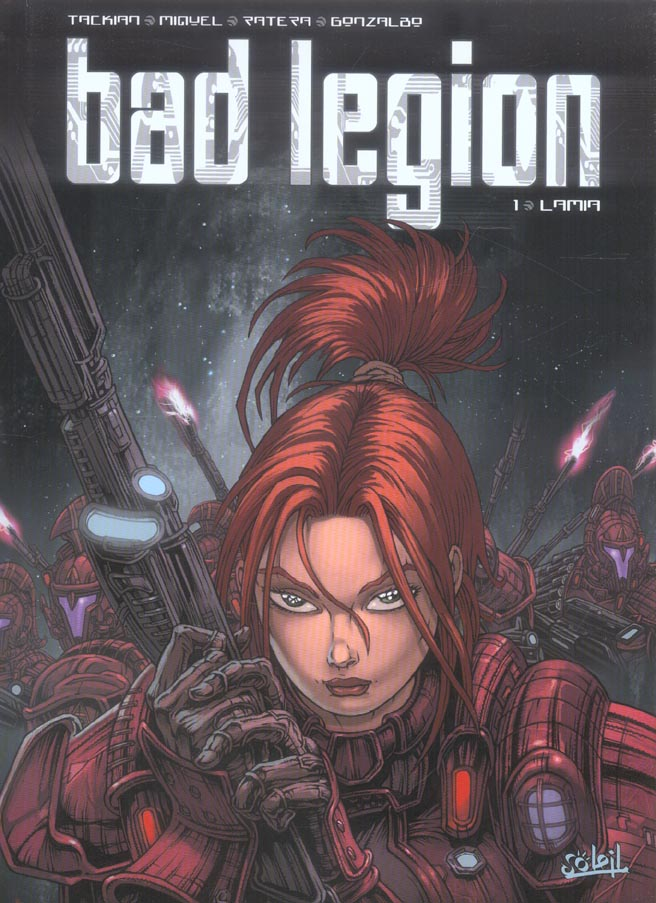 Bad legion t.1 ; lamia