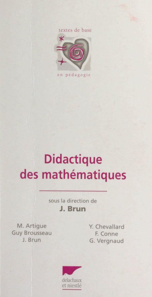 Didactique des mathématiques