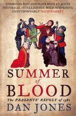 Vente EBooks : Summer of Blood: The Peasants' Revolt of 1381  - Dan Jones