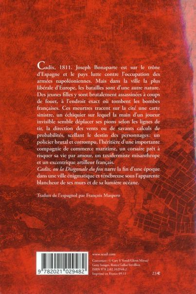 Cadix, ou la diagonale du fou
