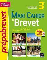 Vente Livre Numérique : Le Maxi Cahier du Brevet - Prépabrevet 2022  - Collectif