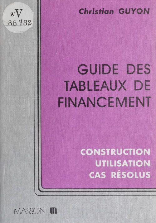 Guide tableaux financem.