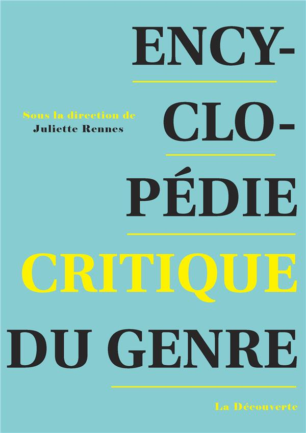 Encyclopédie critique du genre