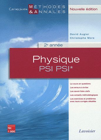 Physique ; PSI, PSI*, 2ème année