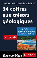 Vente Livre Numérique : 34 coffres aux trésors géologiques  - . Collectif