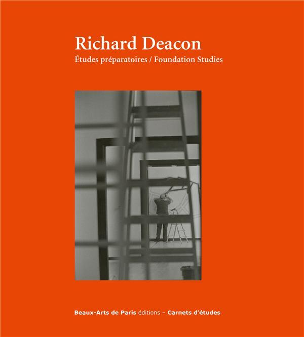CARNETS D'ETUDES T.43 ; Richard Deacon, études préparatoires