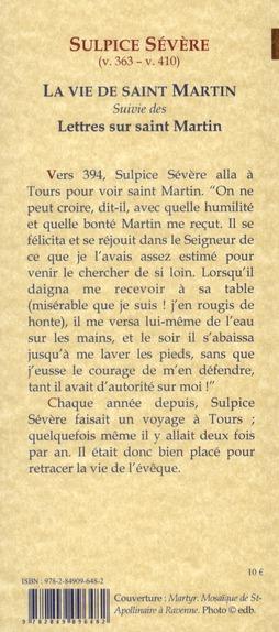 La vie de saint Martin