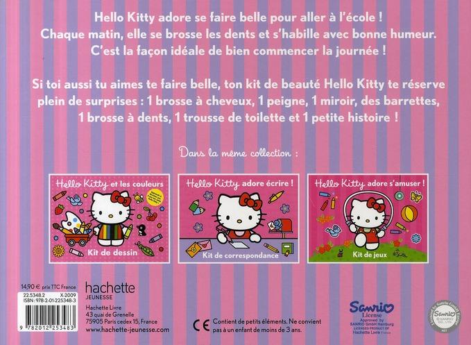 Hello Kitty se fait belle ! kit de beauté