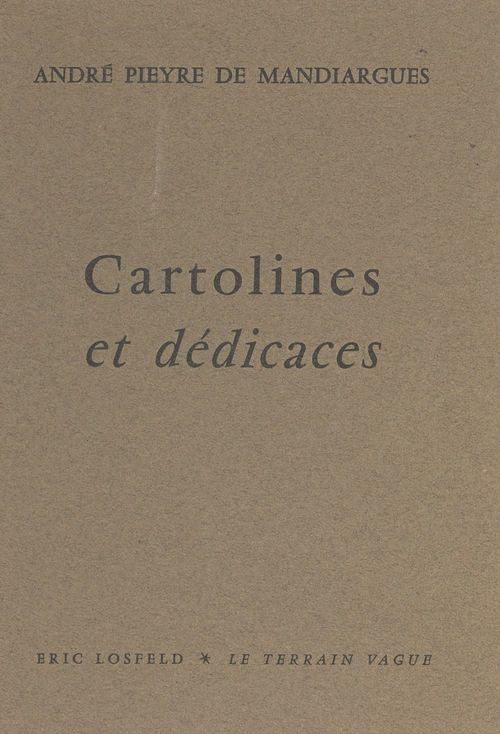 Cartolines et dédicaces, 1953-1960
