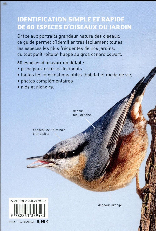 Reconnaître facilement les oiseaux du jardin ; photos grandeur nature