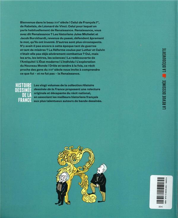 Histoire dessinee de la france n.9 ; en age florissant : de la renaissance a la reforme